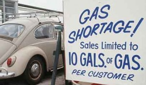gas shortage