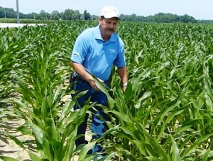 Kevin Wilson in the Corn