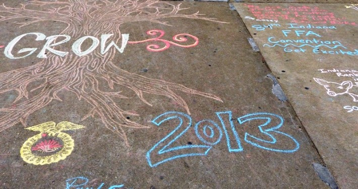 State Convention chalk walk