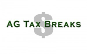 ag tax break