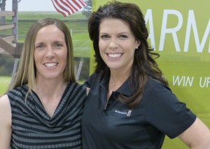 Stephanie Essick and Tracy Mueller